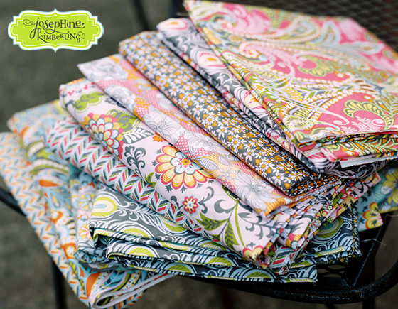 Josephine Kimberling's 'Caravan Dreams' fabric collection with Blend Fabrics
