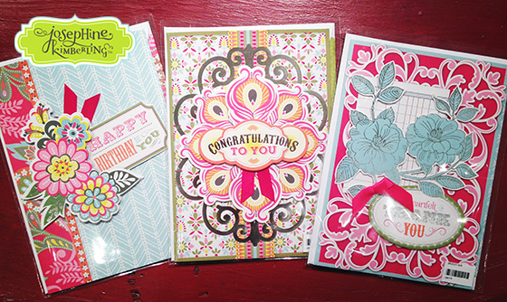 Josephine Kimberling's 'Caravan Dreams' Stationery collection with Blend, the licensing division of Anna Griffin, Inc.