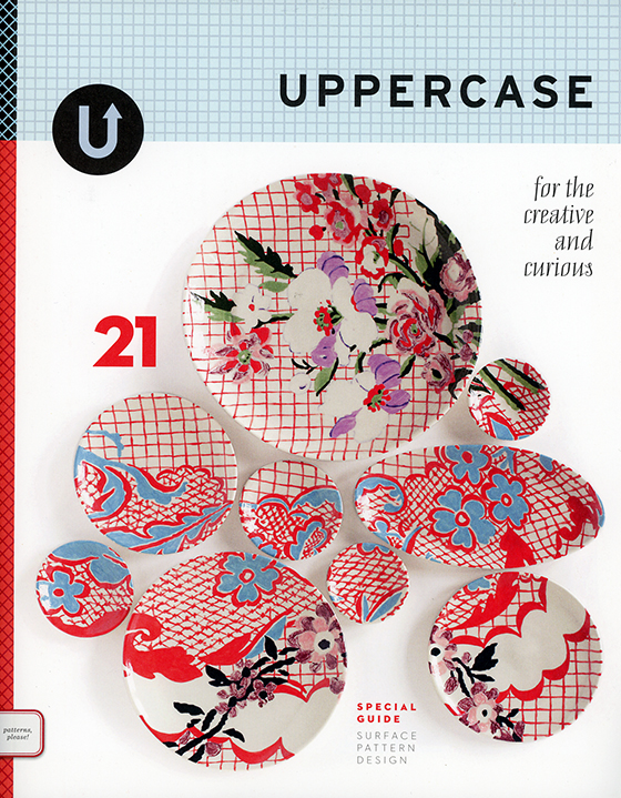 """UPPERCASE Magazine Issue 21, Including the """"Surface Pattern Design Guide"""" @uppercasemag #patternplease"""