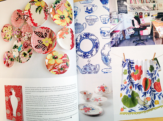 UPPERCASE Magazine Issue 21, including the cover artist Molly Hatch @uppercasemag #patternplease