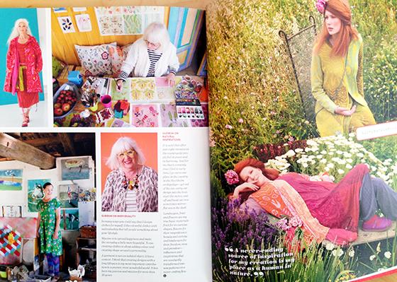 UPPERCASE Magazine Issue 21, including Gudrun Sjoden @uppercasemag #patternplease