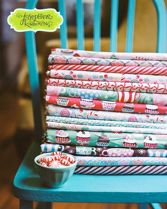 Josephine Kimberling's Sugar Rush fabric collection with Blend Fabrics!