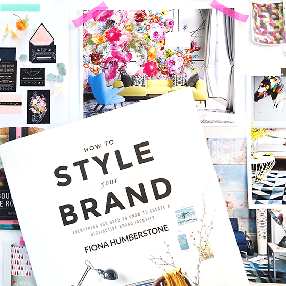 How to Style Your Brand by Fiona Humberstone - A Book Review