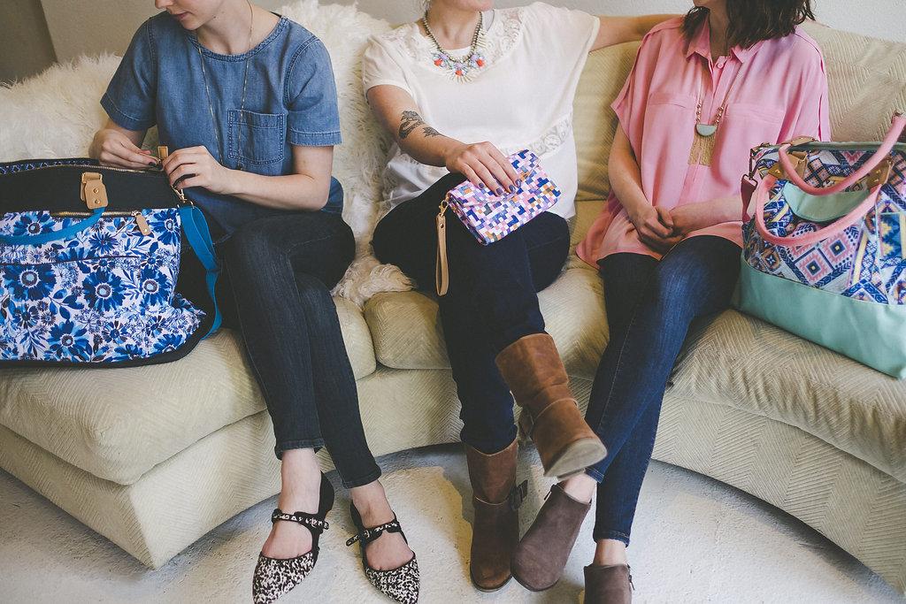 Handbags & wallets by Josephine Kimberling for Capri Designs