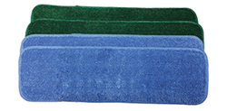 Microfiber Econo Wet Mops   - Designed for a lower price point and slightly shorter life span. If you're in an environment with loss mops or frequently mishandled product, these are great options for lower price points.