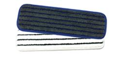 Microfiber Horizontal Stripe Scrub Mop   - Our industrial strength flat wet scrub mops are larger than standard scrubbing mops and feature tough polypropylene ridges.