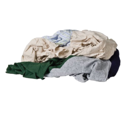 "Recycled Wiping Rags   - We re-purpose millions of pounds of recycled sheets, towels and clothing by preparing them into cut ""task specific"" wipers."