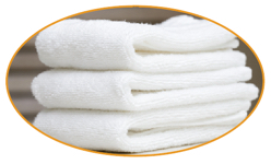 Imperfect Towels  Imperfects contain some small flaws that may not even be visible or obvious. Too many fly-yarns, a missing warp or weft tread, bowing construction, over-stitching, tiny perforations or color dyes that do not match the samples sold to the retailer, all make up  imperfects .