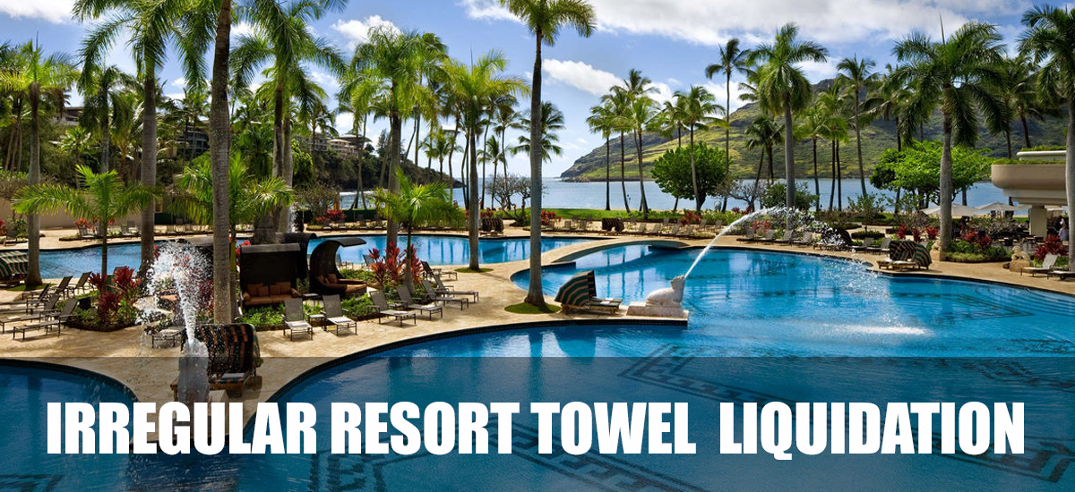 wholesale resort towels