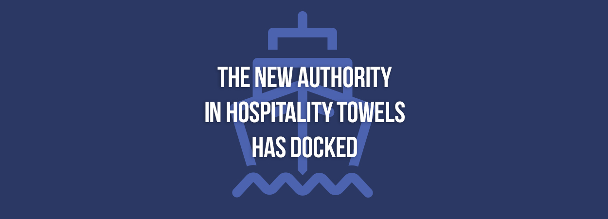The Admiral towel is a hotel towel collection that is carton-packed & guest ready. Monarch brands, a hotel towel supplier, makes these towels for strength & longevity.