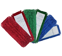 Mesh- Backed Pocket Mop . 100% Microfiber mesh backed for a stretched snug fit. Mesh construction dries quicker than traditional canvas pocket mops.