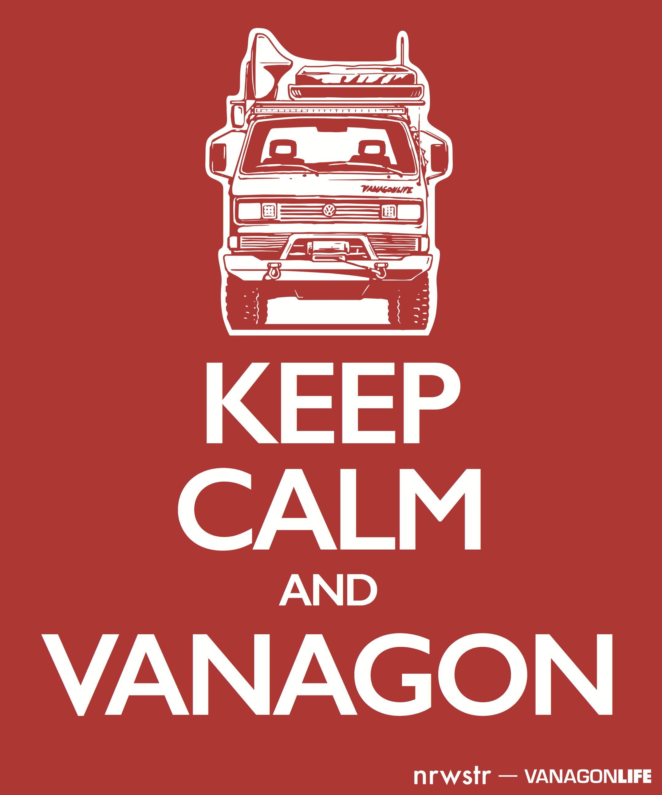 keep calm and vanagon.png