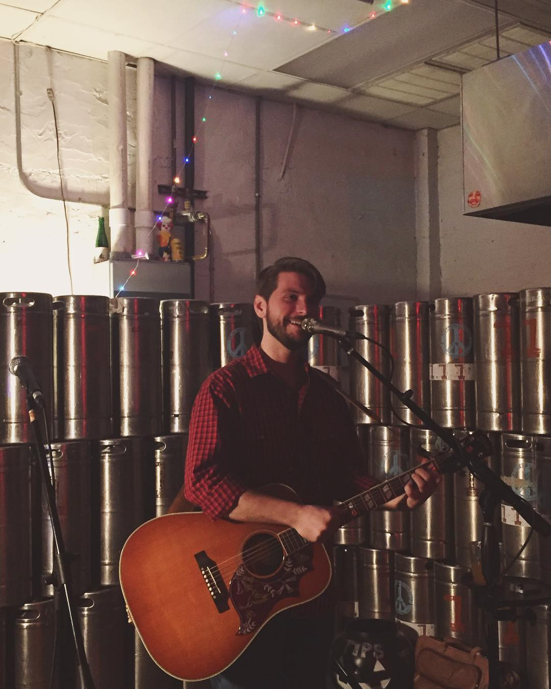 Andy's First Solo Show at Druid City Brewing