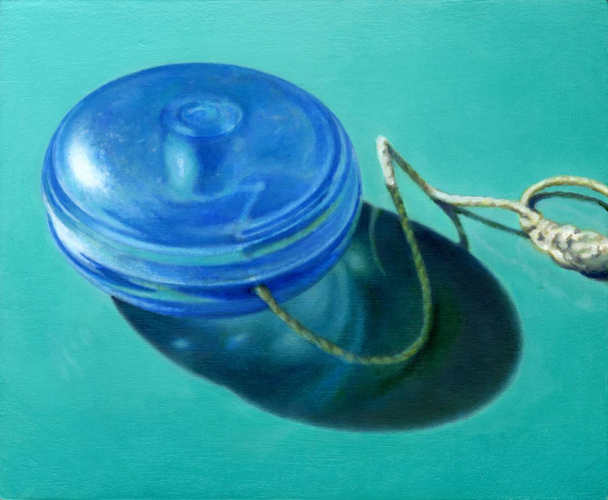 Blue Yo-yo