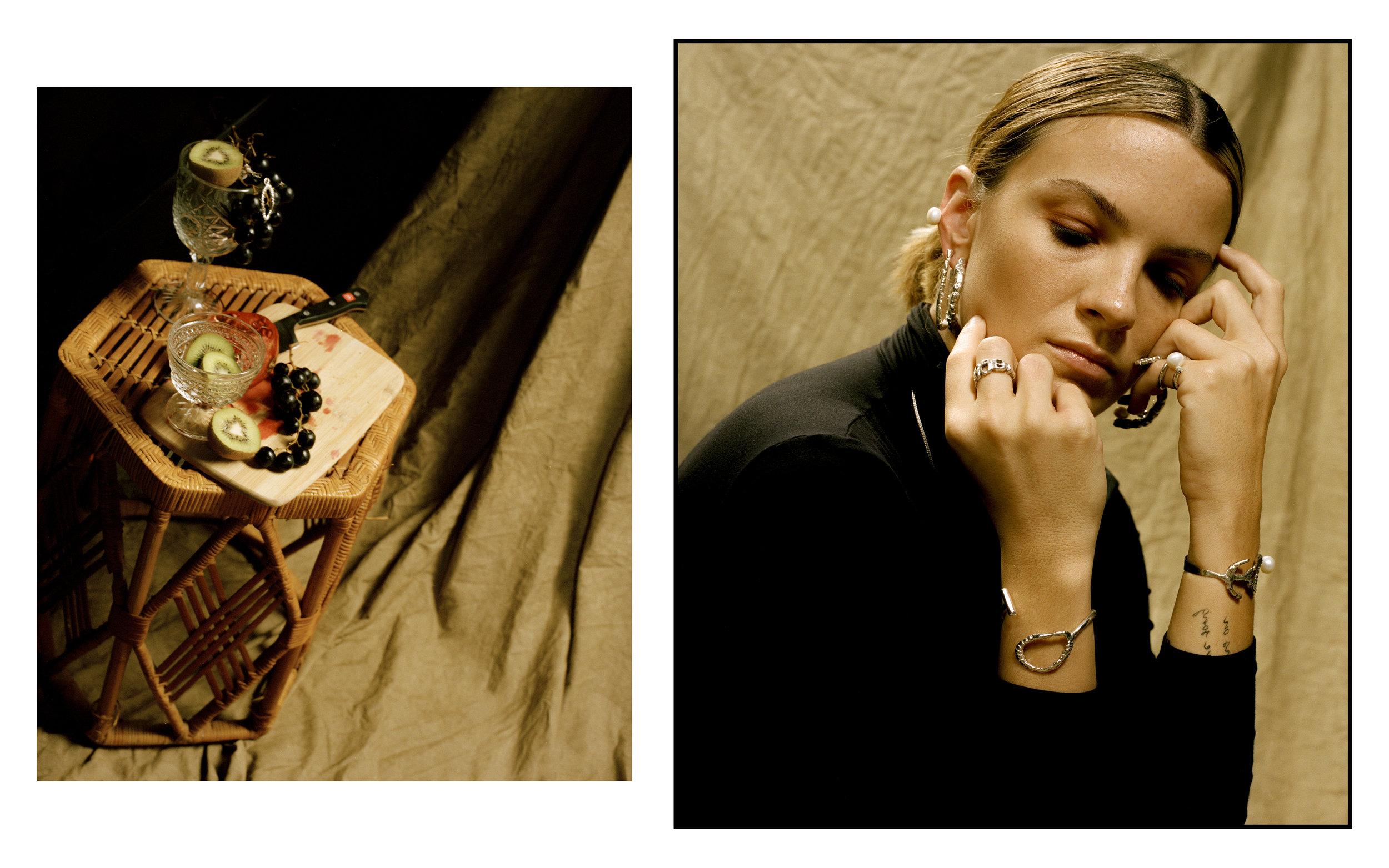 Jewelry by Zerica// Shot on 120mm