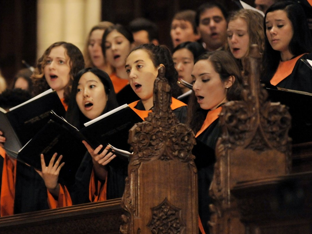 The Choir - Chapel Choir is a mixed choral ensemble, consisting of approximately 70 undergraduate students, graduate students, faculty, and community members, all coming from a diverse range of backgrounds and disciplines.Learn more about the people →