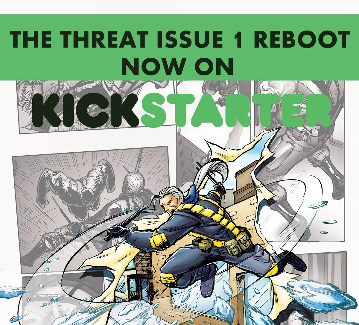Stratum Comics The Threat Issue 1 Reboot Kickstarter