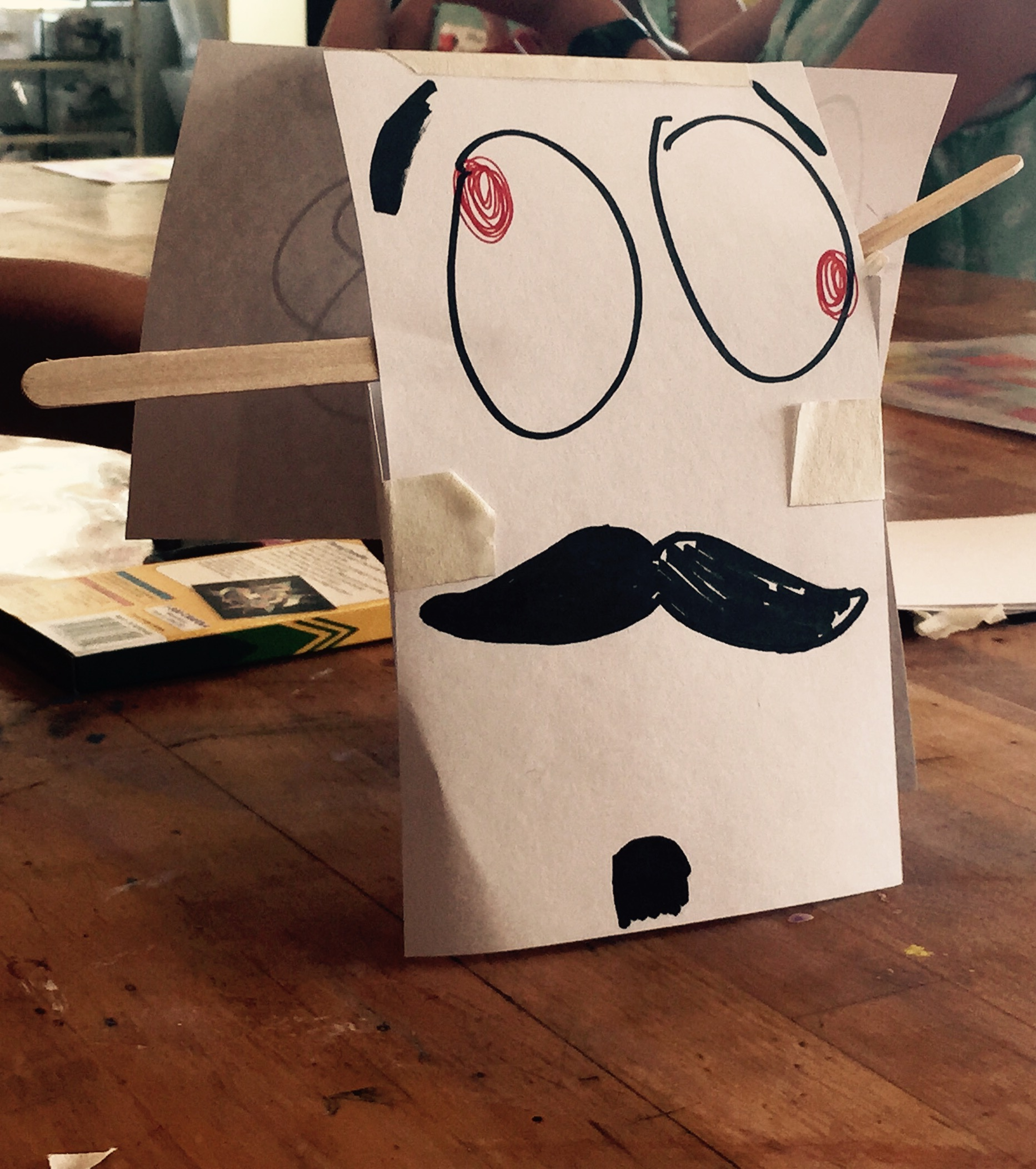 """3D Form Challenge:  """"The Silliest"""" Entry, gr 6"""