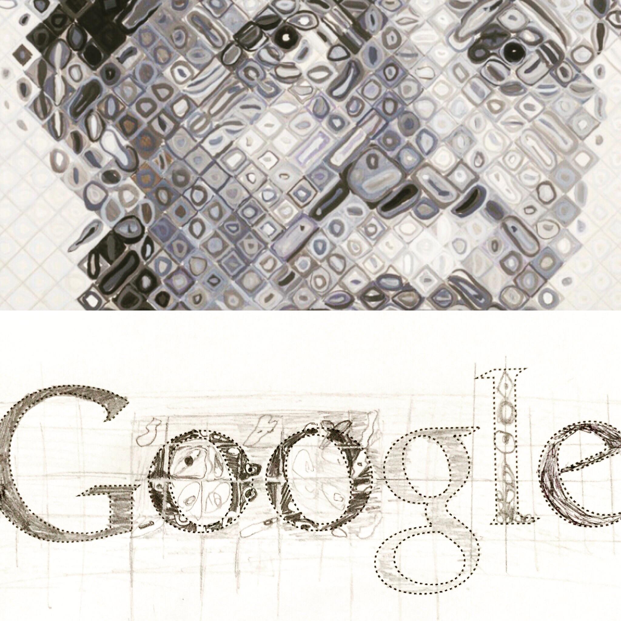 Style Investigations (Chuck Close, painter)
