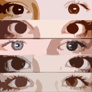Eyes Sea - Sophie R, grade 8Digital Inkjet Print