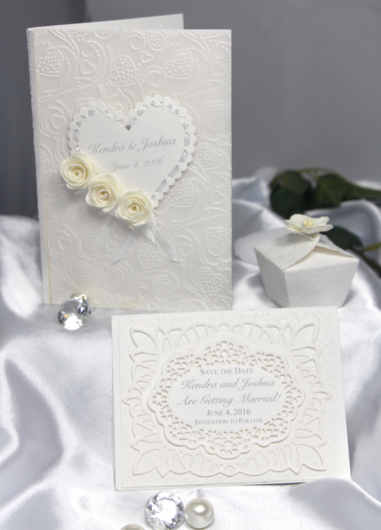 Handmade wedding items--Contact EC Papercrafts to create your own one-of-a-kind card for that special occasion!