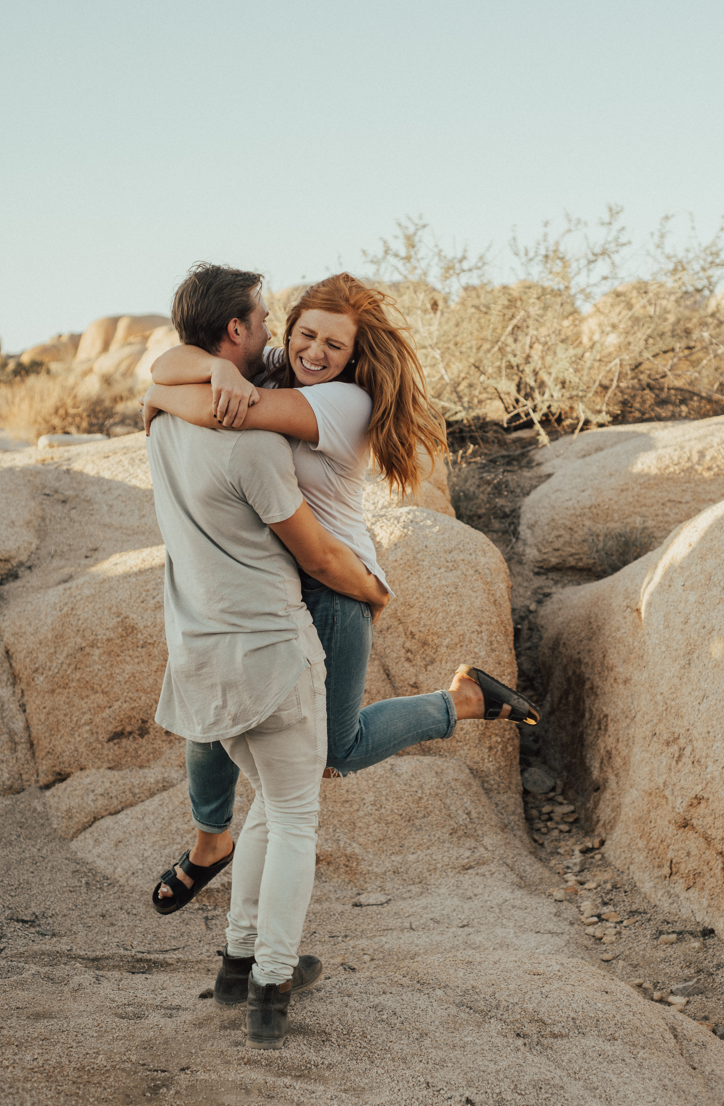 Joshua Tree Couple Session By SB Photographs