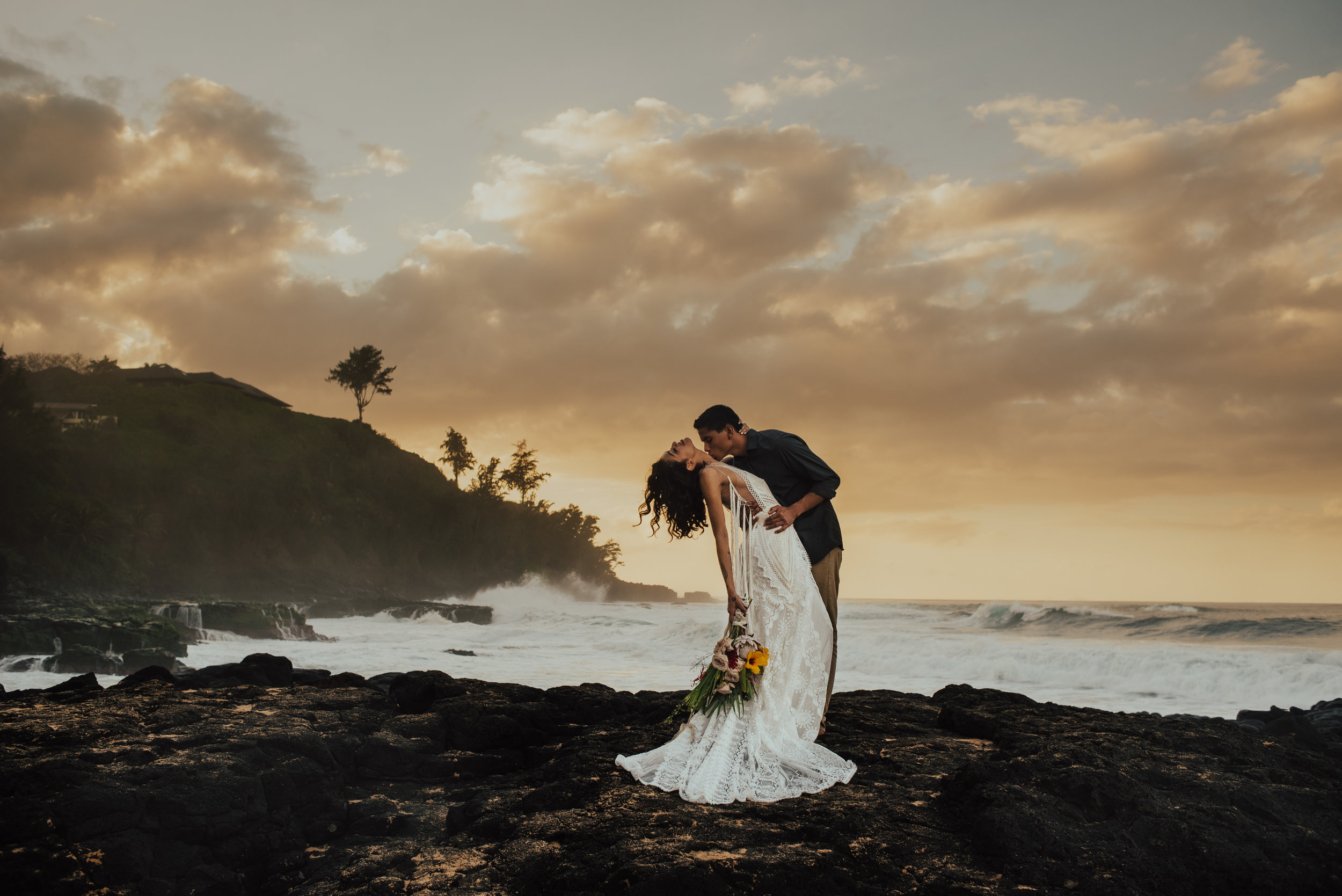 Kauai Secret Beach Elopement by SB Photographs