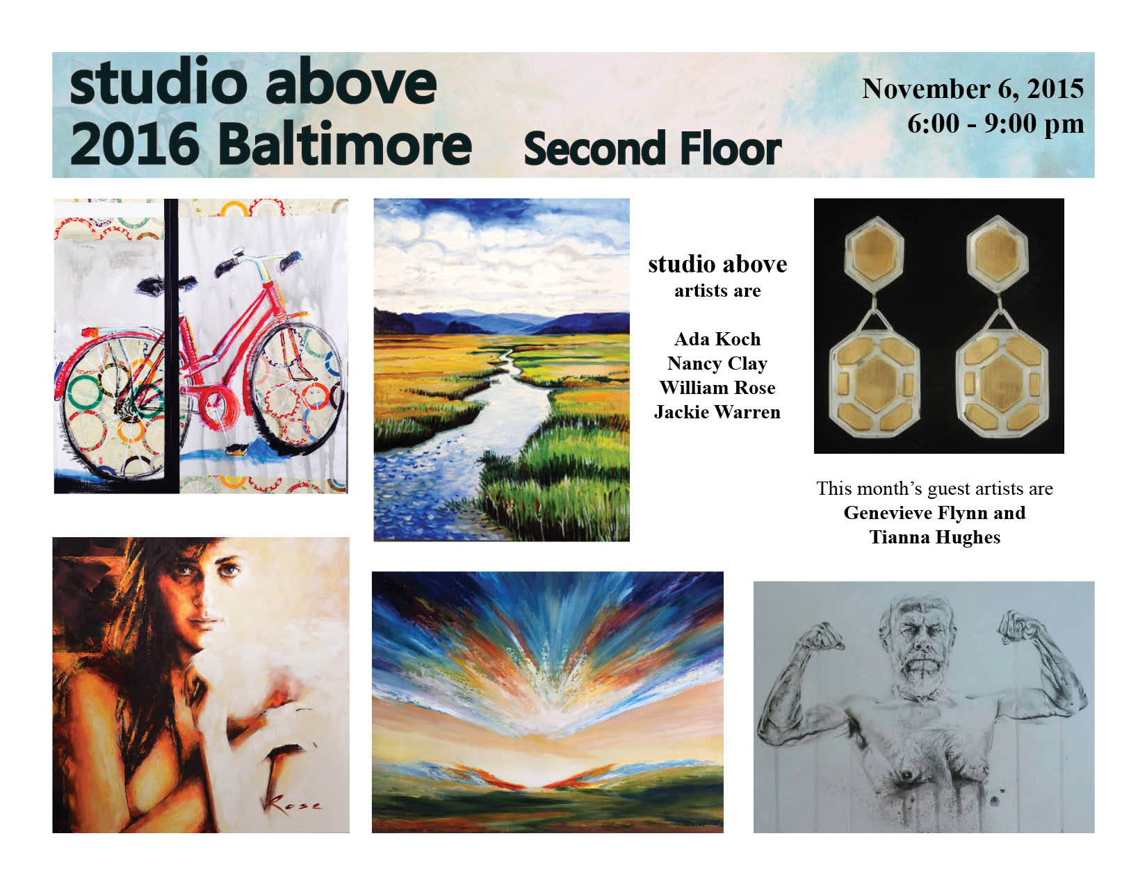 First Friday at Studio Above