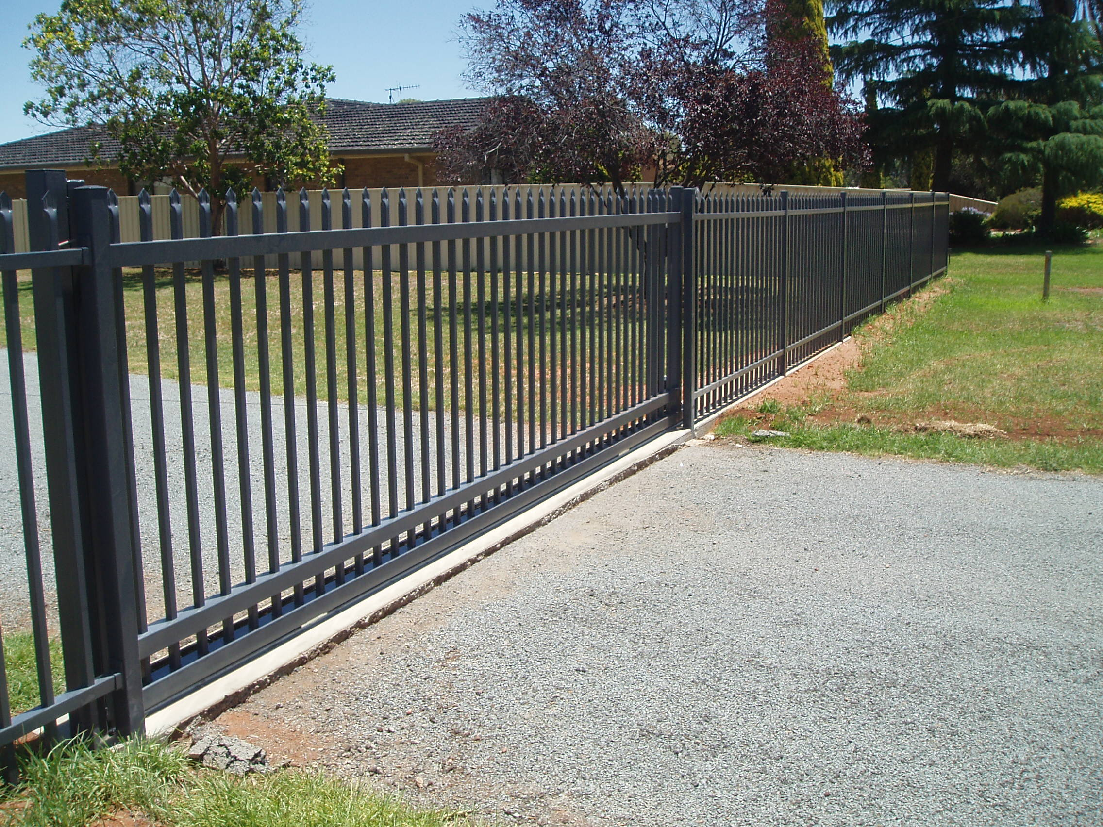 Sliding Security Gate