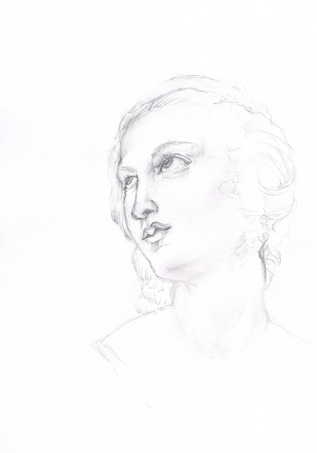 Saint Catherine  - Raphael