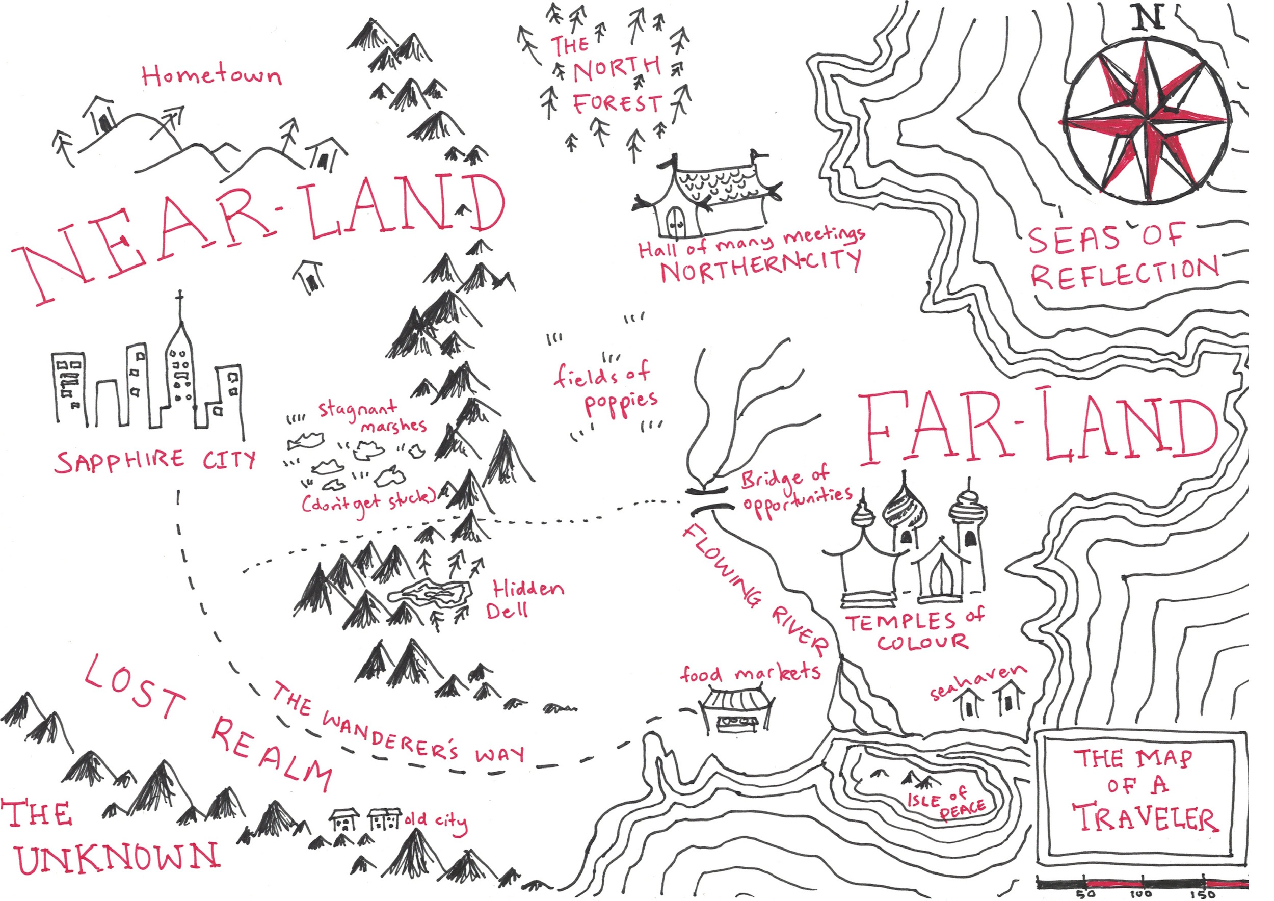 traveling-map-Tolkien-style