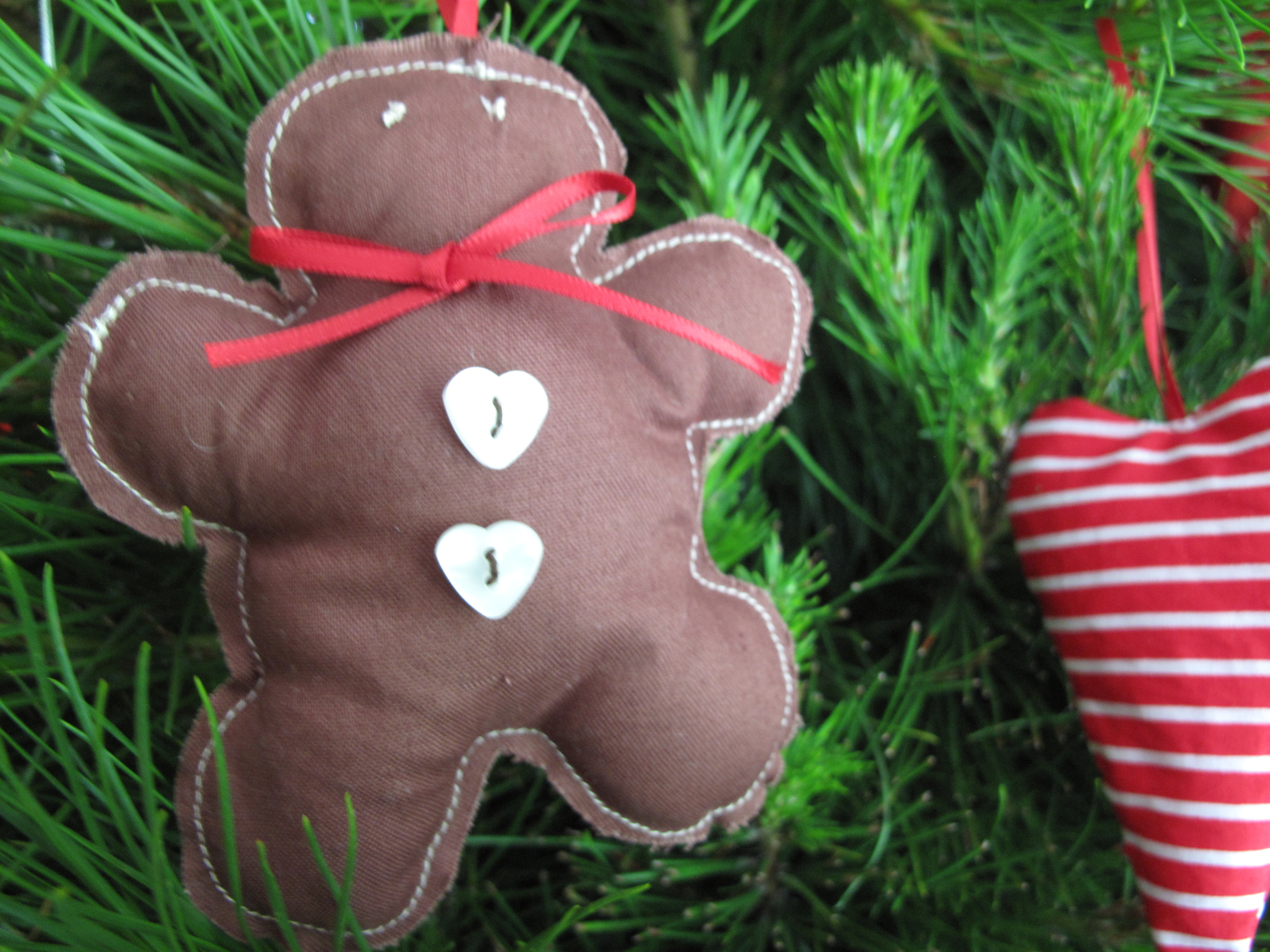 gingerbread man Christmas decoration