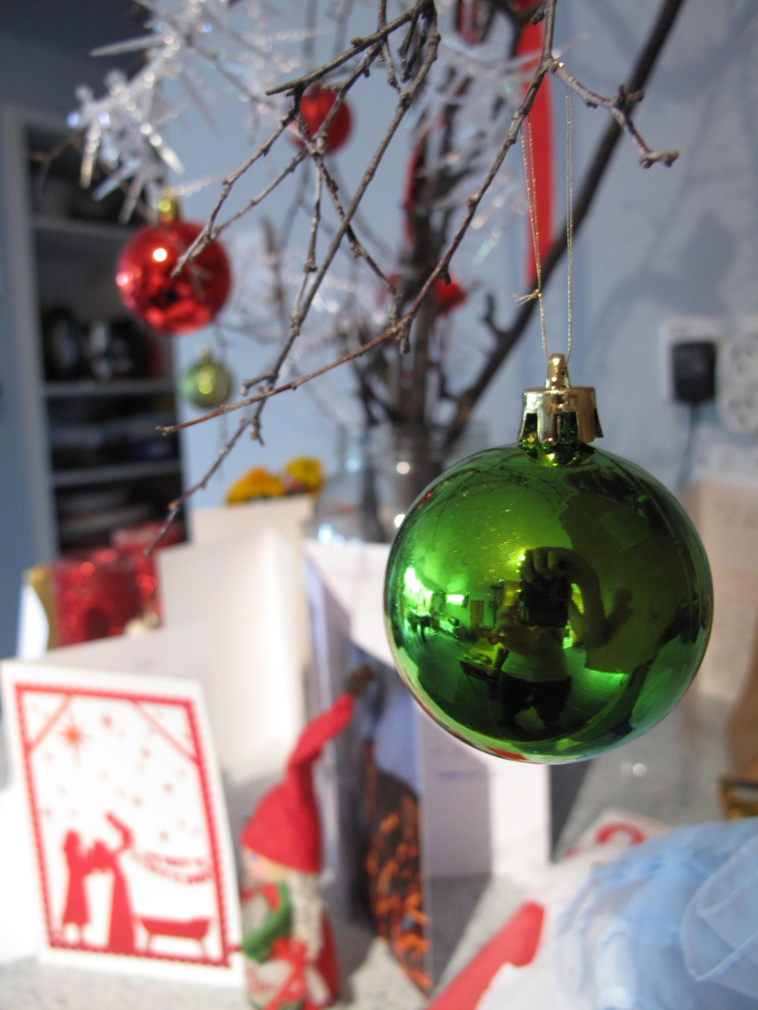 Vintage 1950's christmas decorations