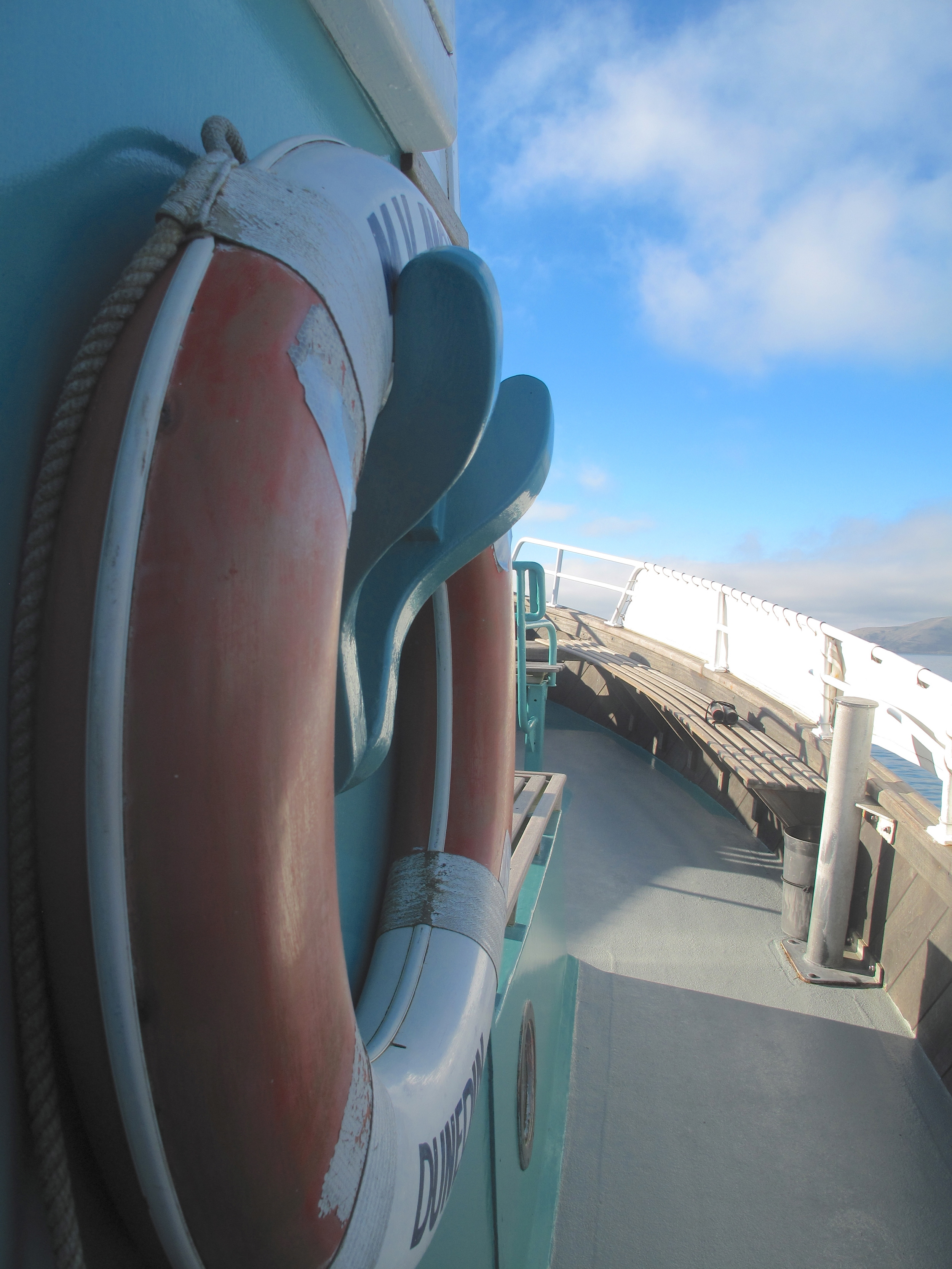 Life saver on Monarch Boat