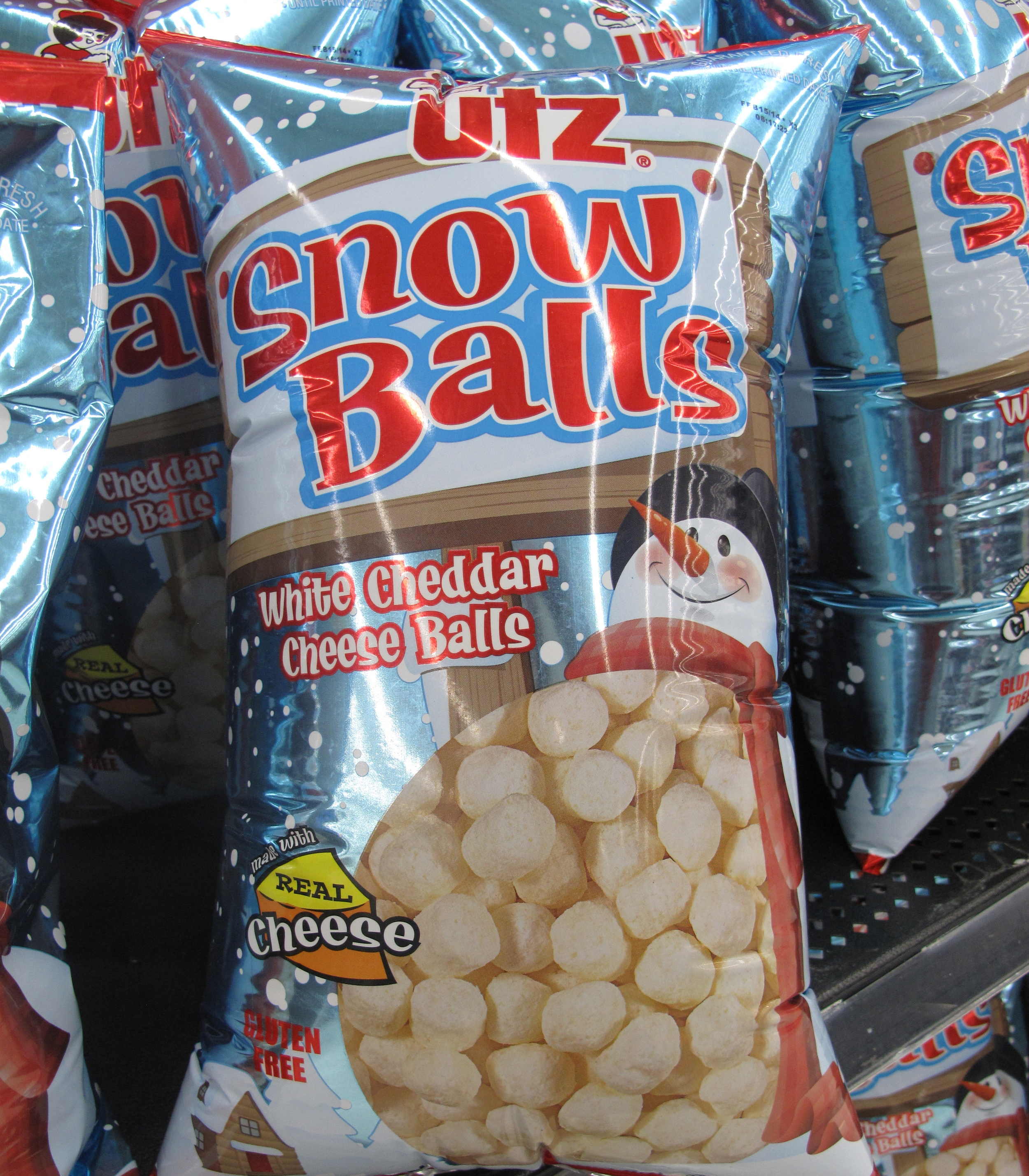 White Cheddar Cheese snow balls