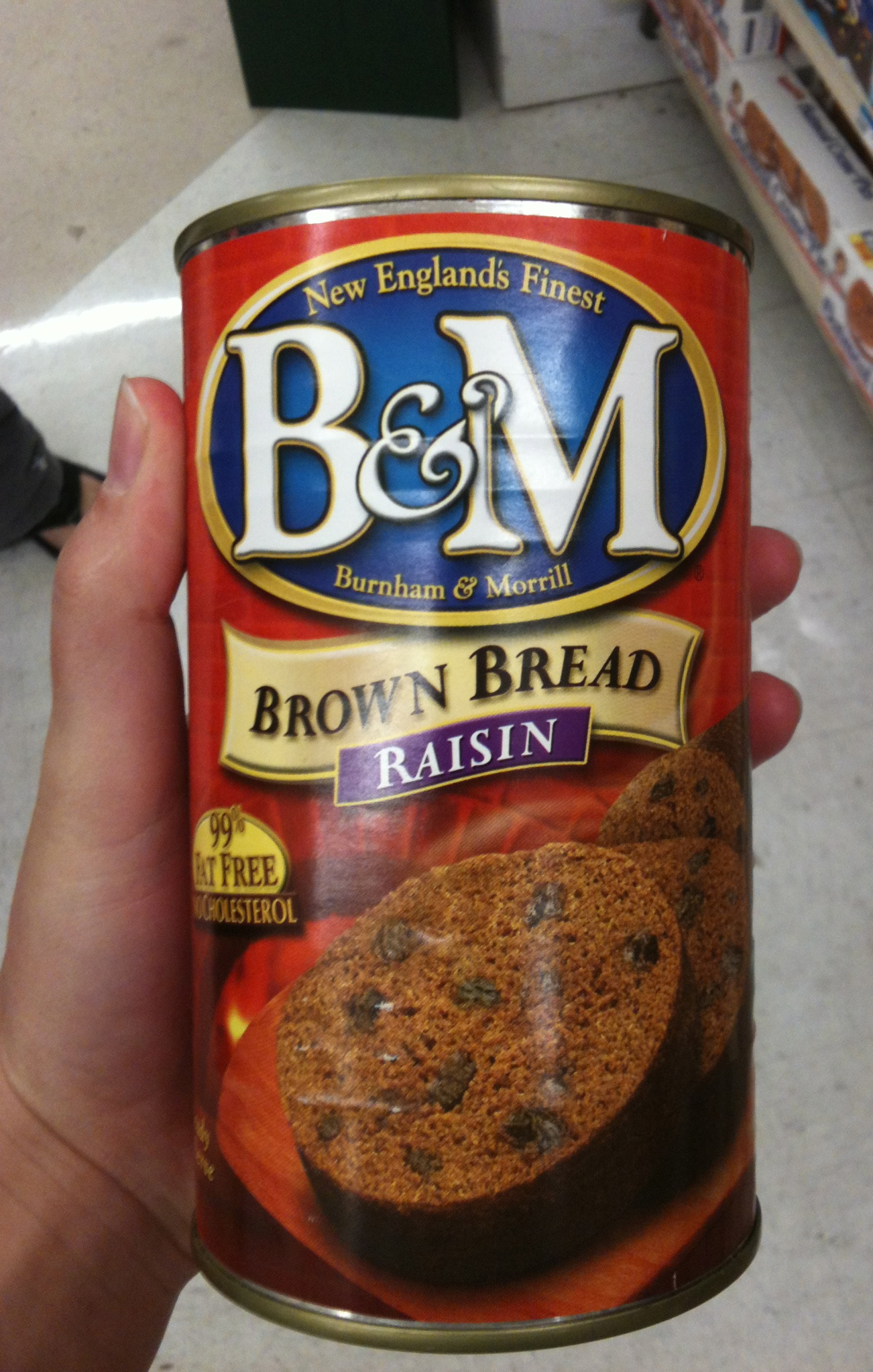 Brown Bread in a can... only in America