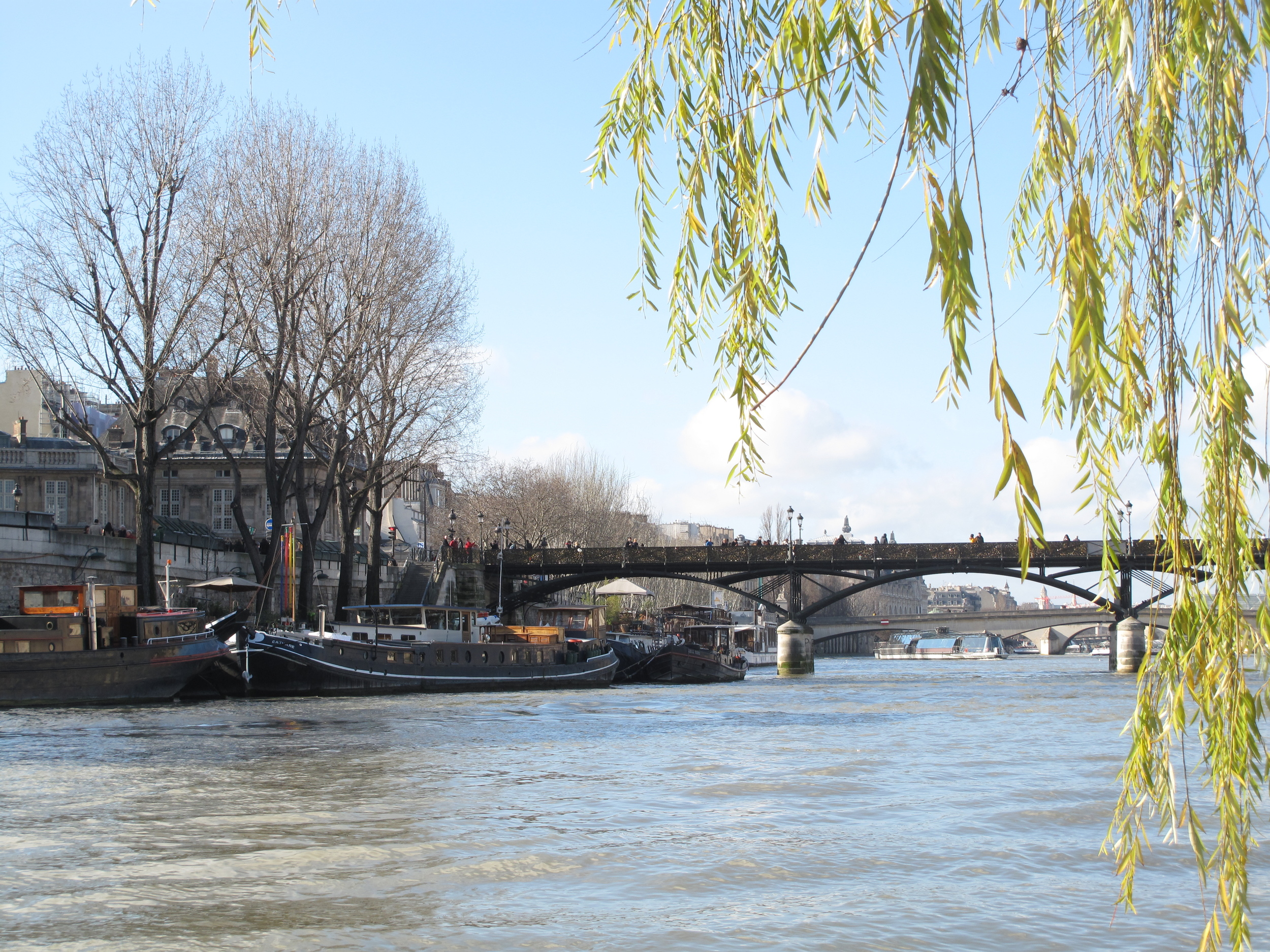 View of the Seine from the Parc Vert-Galant, Paris