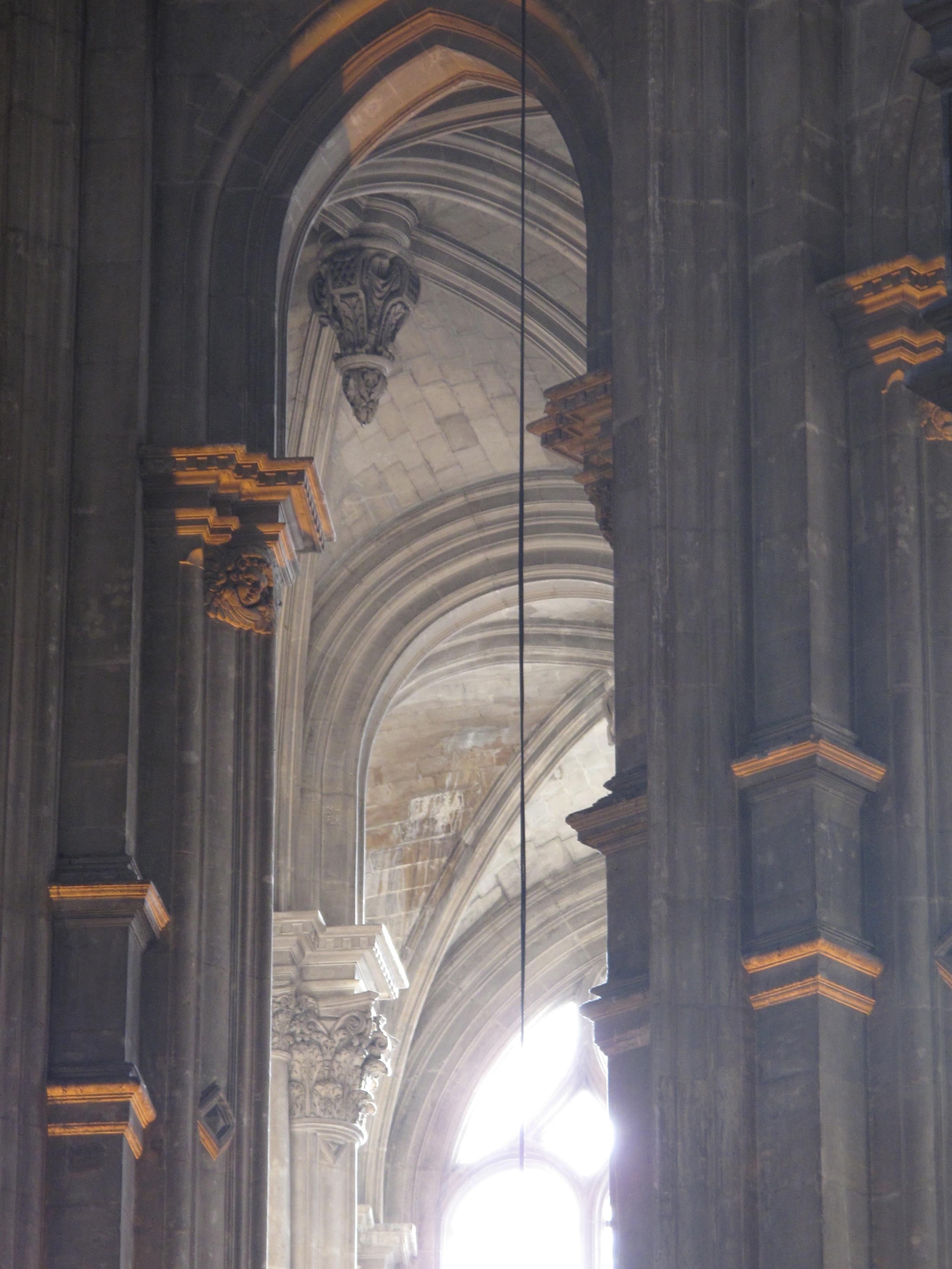 Church architecture, gothic vaulting, Paris