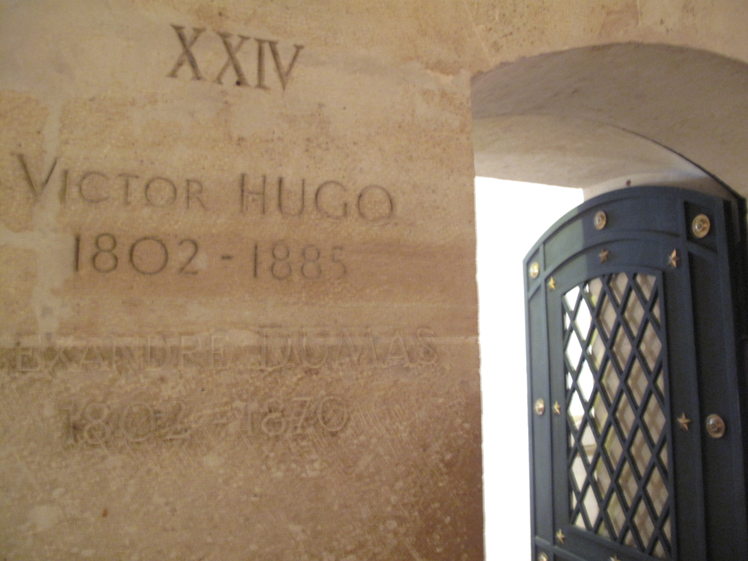 Tomb of Victor Hugo at the Pantheon