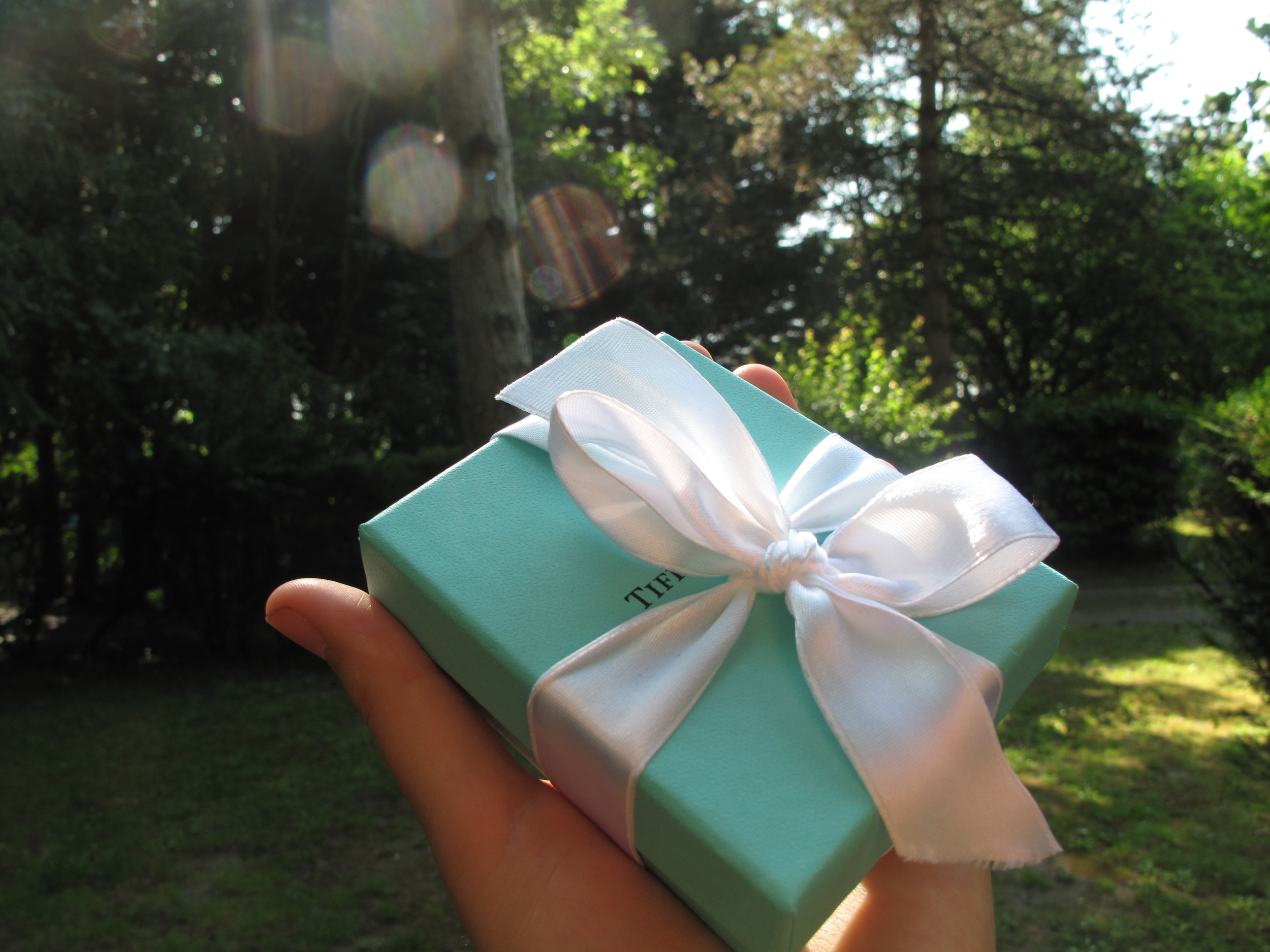 A tiffany's box