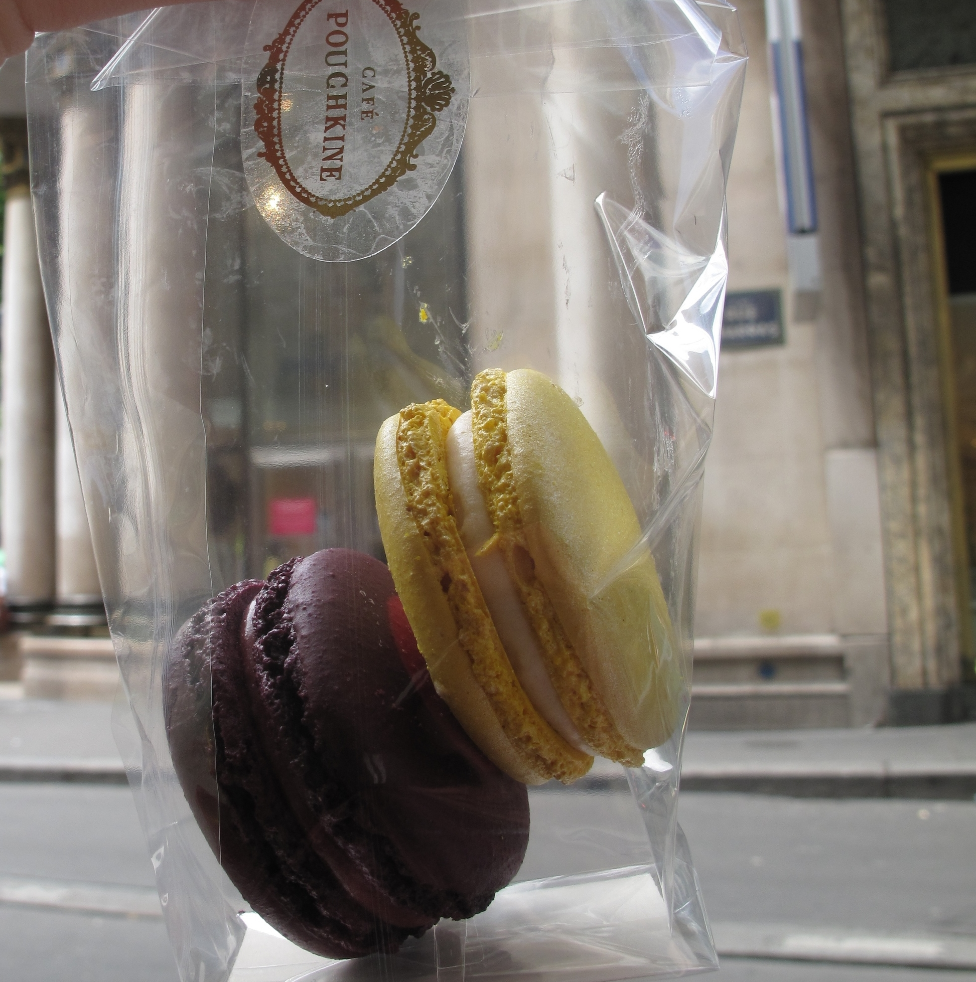 Macarons from café Pouchkine, Paris