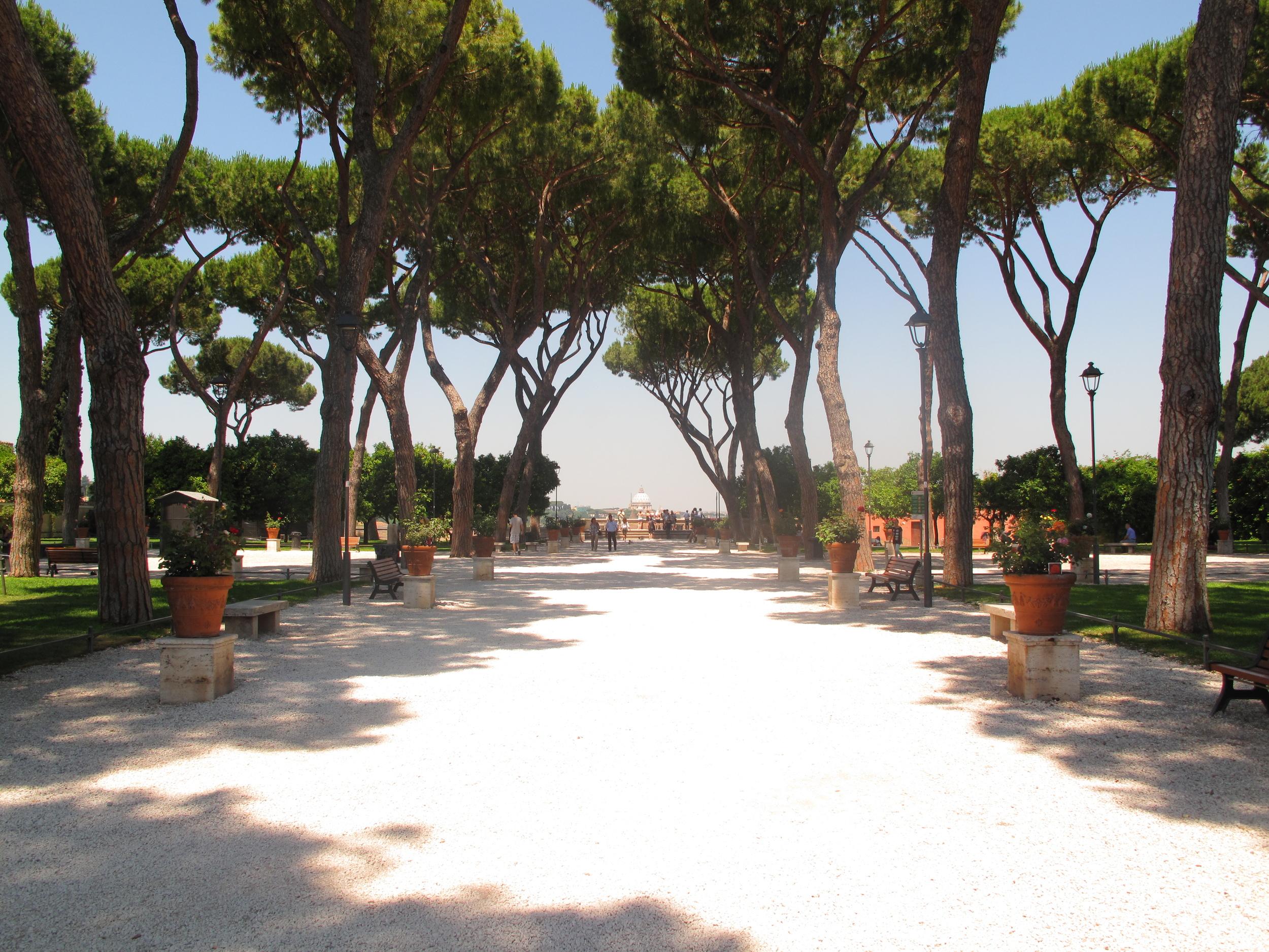The Giardino degli Aranci, Orange Garden, Rome