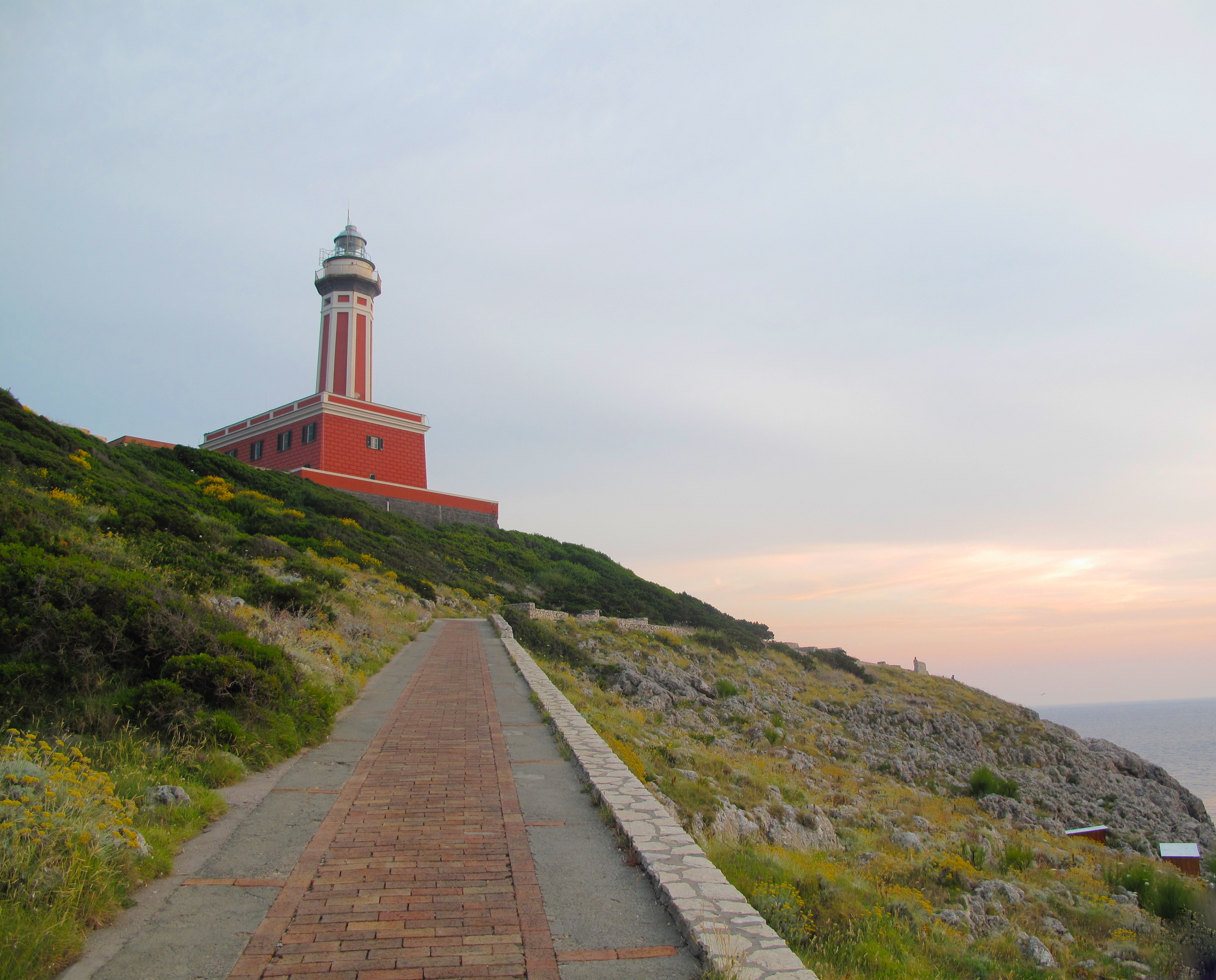 Punta Carena Lighthouse on Anacapri