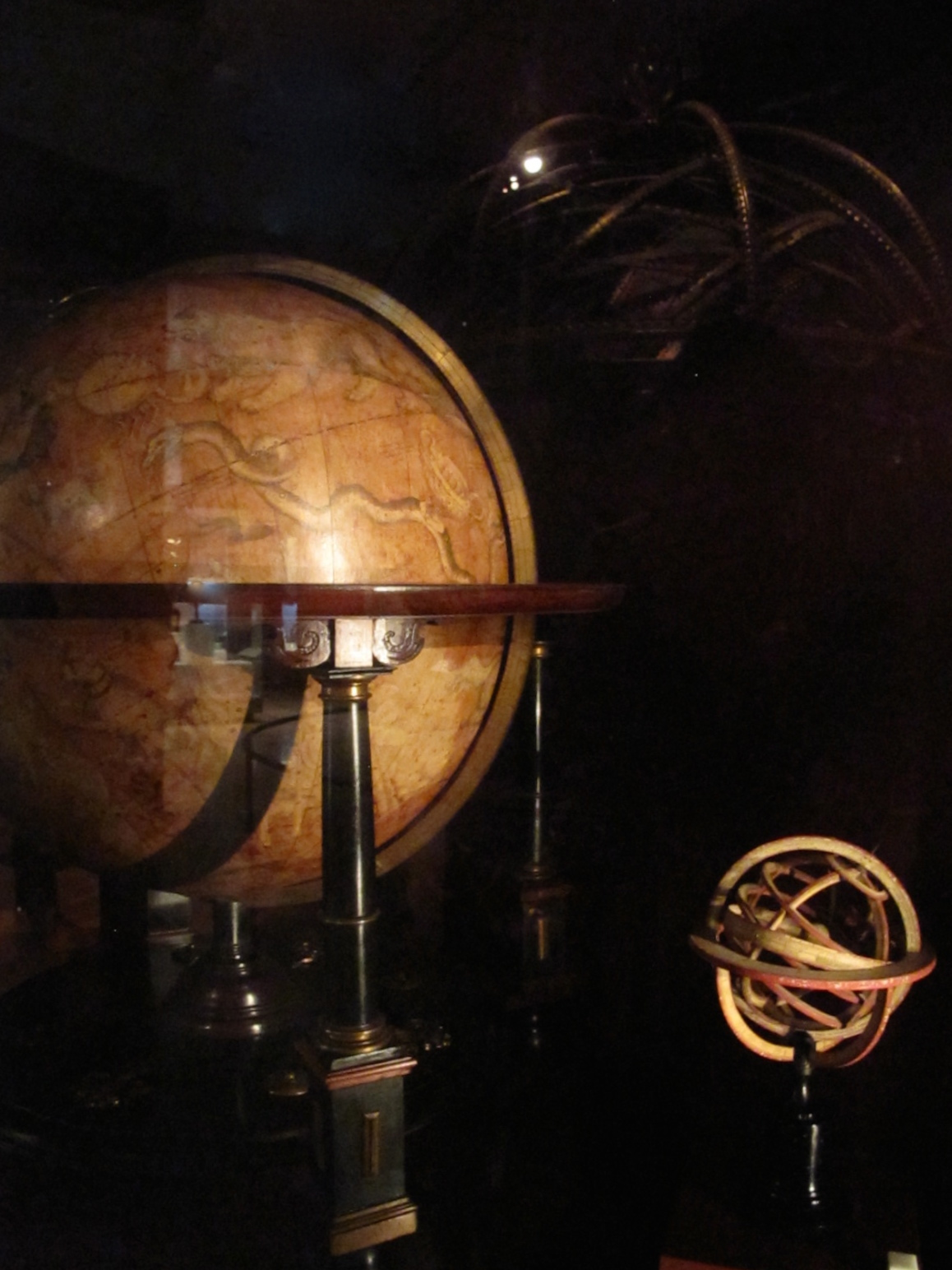 Museo Galileo medieval globes of the world