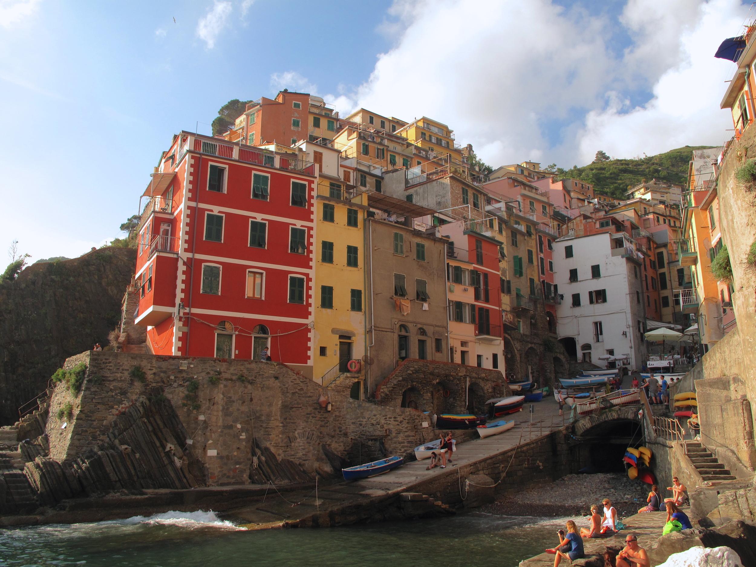 Riomaggiore village in the Cinque Terre