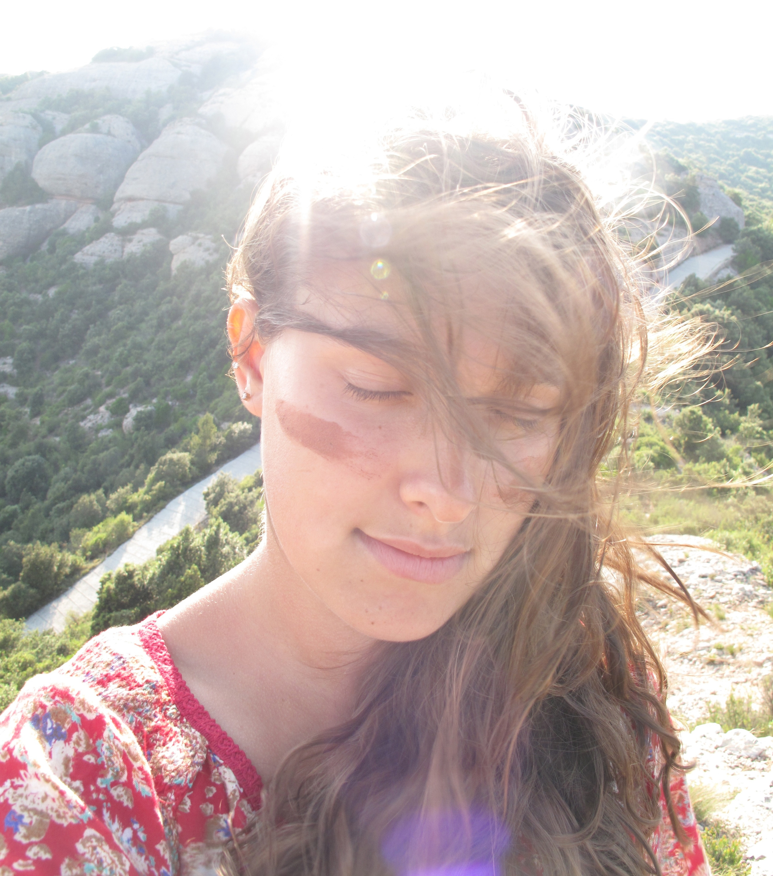 War paint and hiking