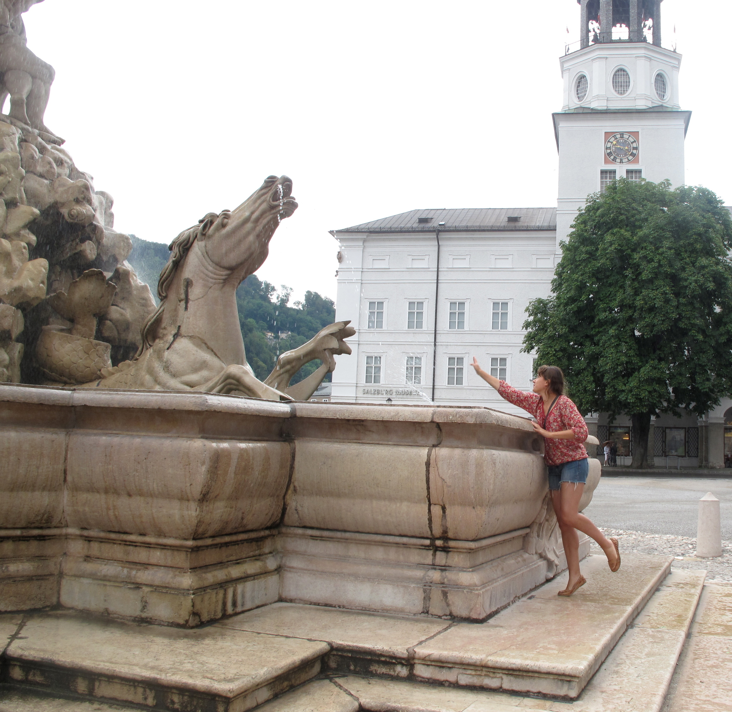 Fountain from the Sound of Music.