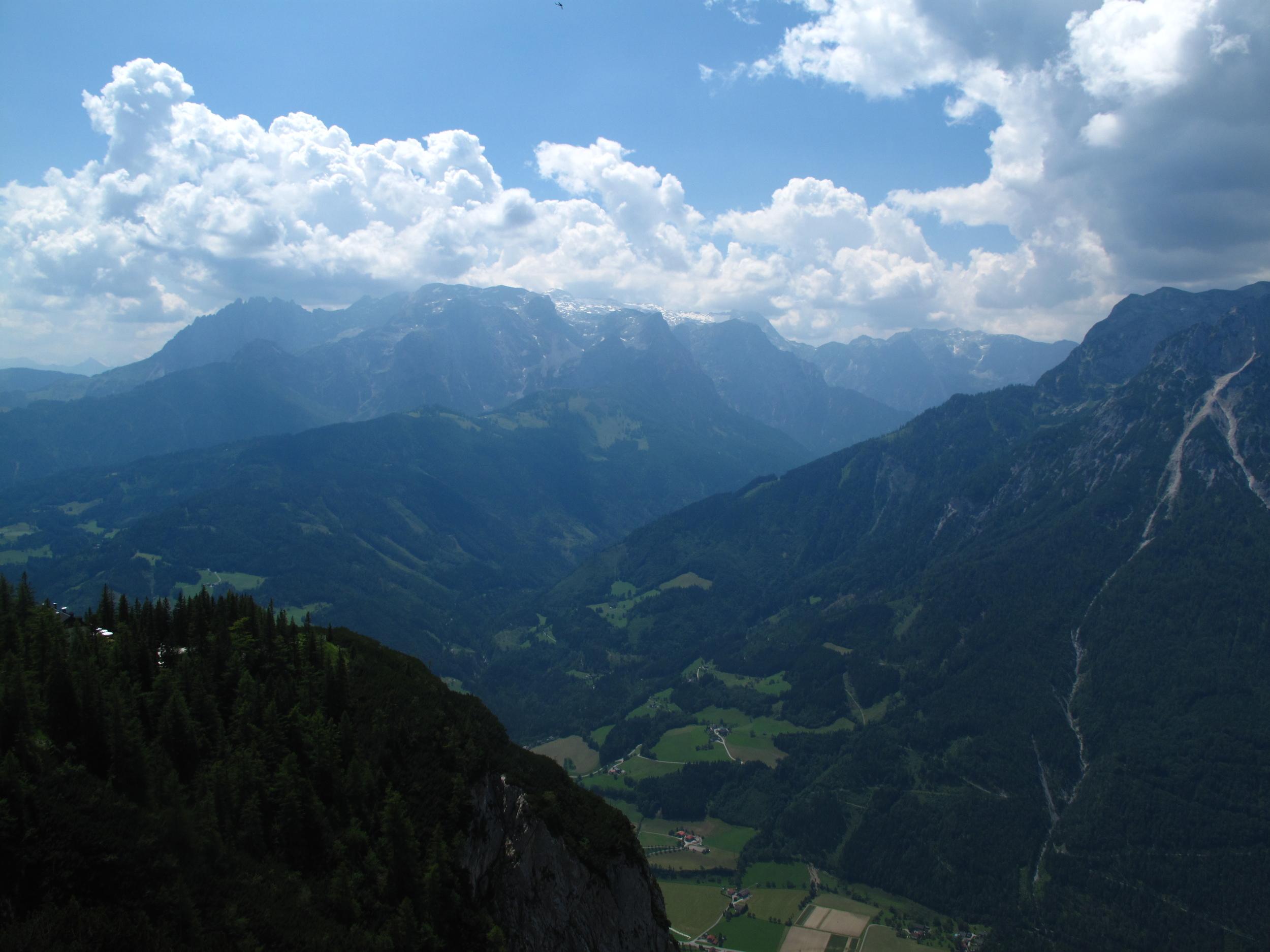 The mountains of Austria near Werfen.