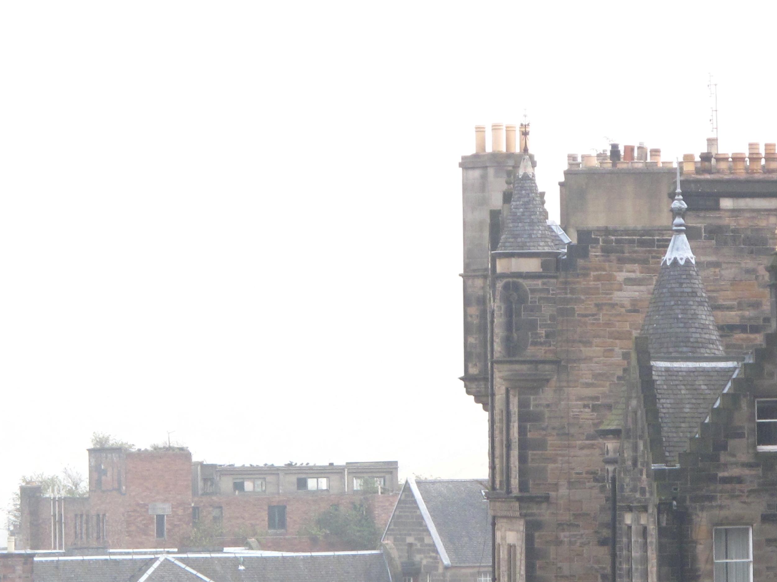 Chimneys in Edinburgh.