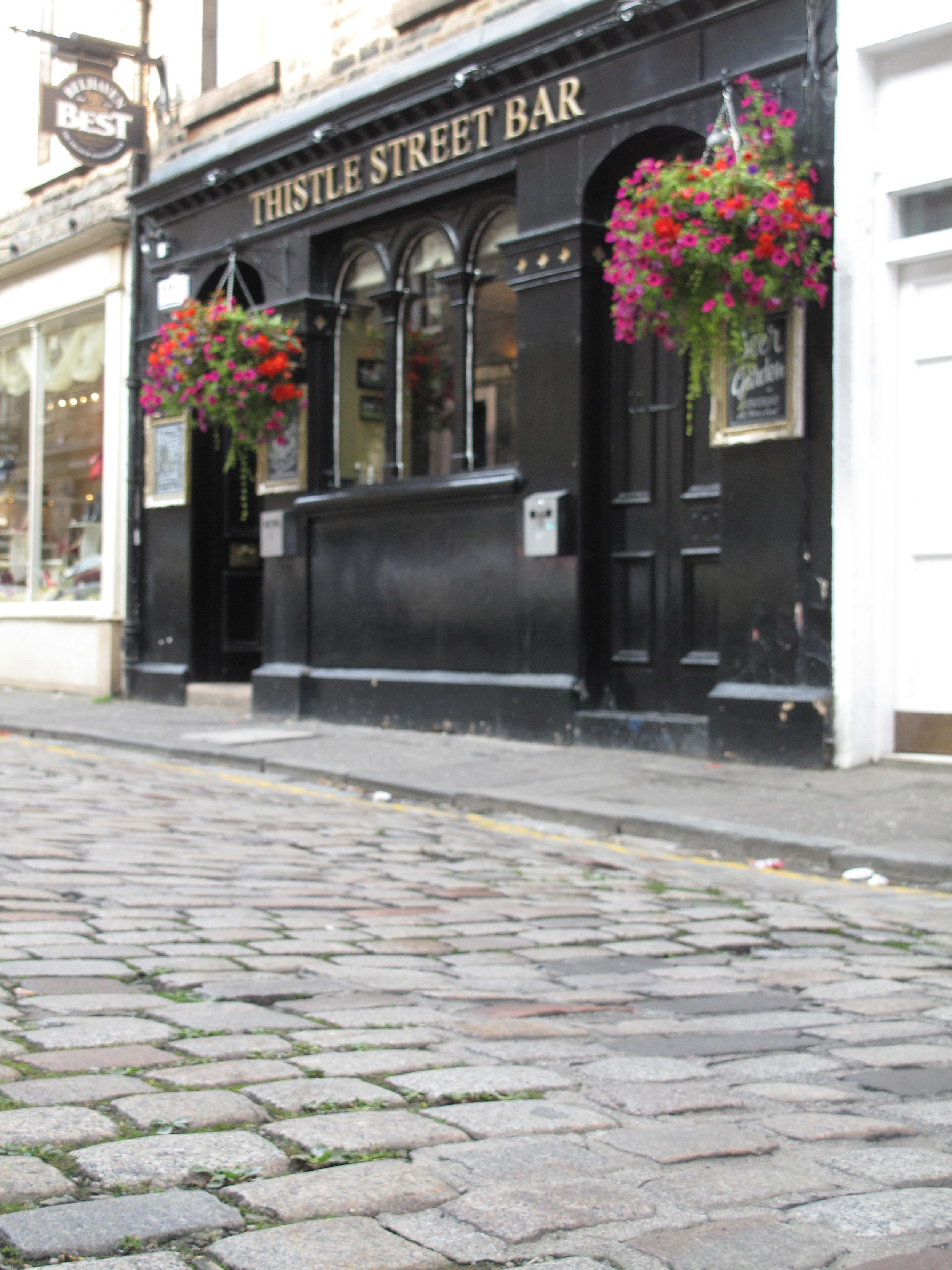 Thistle Street Bar, Edinburgh.